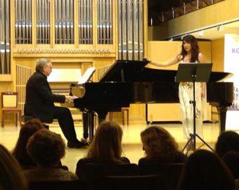 Con Belén. Programa Padilla (Conservatorio Música Madrid)