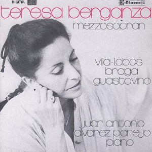 Villalobos. Teresa Berganza