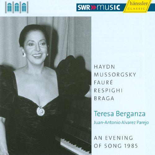 An Evening of Song, 1985. Teresa Berganza
