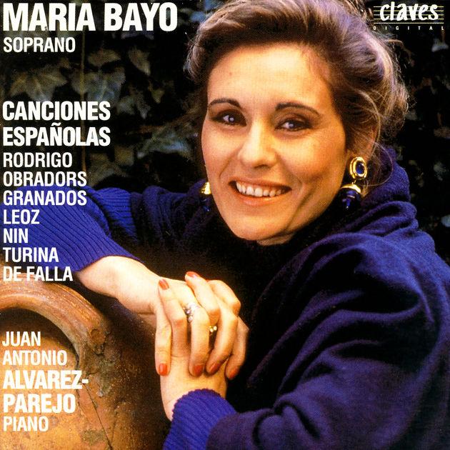 María Bayo. Canciones españolas